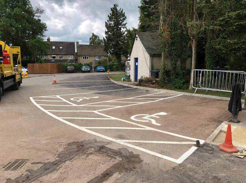 rimary School in Sidcup - Car Park Markings